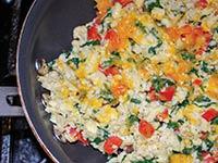 Egg & Veggie Scrable