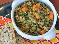 Spicy Lentil & Sausage Stew