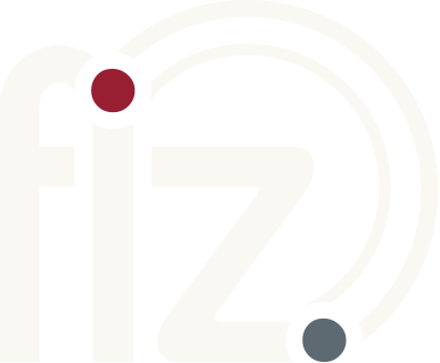 Logo with the letters f i z.