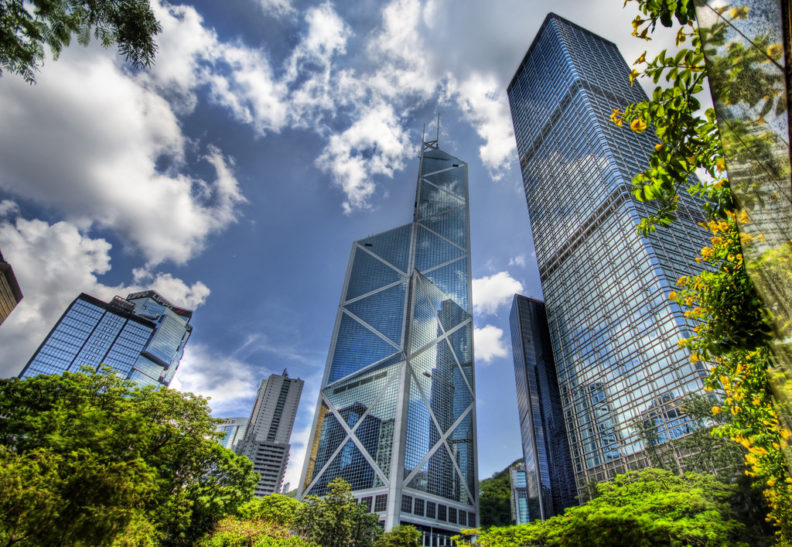 Photo of Hong Kong buildings by day, by Trey Ratcliff
