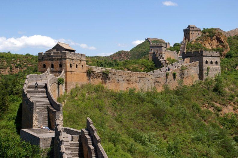 Great Wall of China near Jinshanling, photo by Jakub Hałun