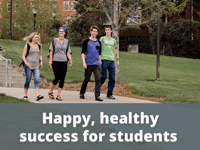 Happy Healthy Success for students