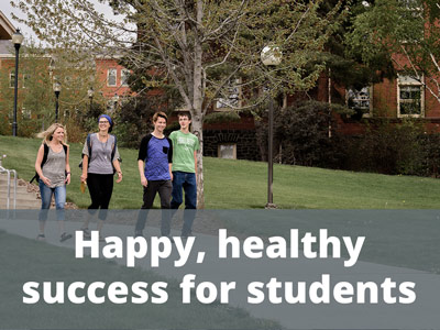 Happy, healthy success for students