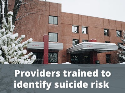 Providers trained to identify suicide risk