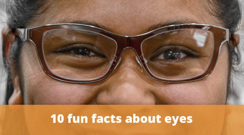10 fun facts about eyes