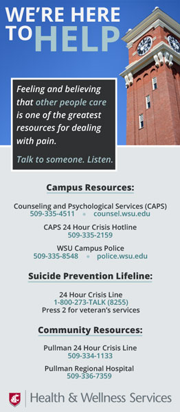 Suicide Prevention Brochure Preview