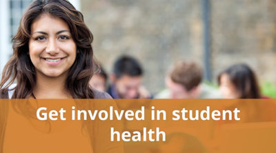 Get involved in student health