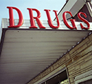 Image of drug store sign