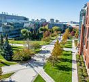 Photo of the WSU Health Sciences Spokane campus