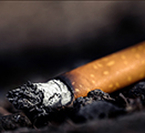 Photo of used cigarette
