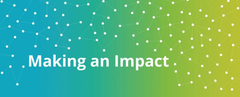 Making an Impact header