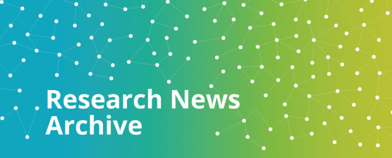 Research News Archive header image