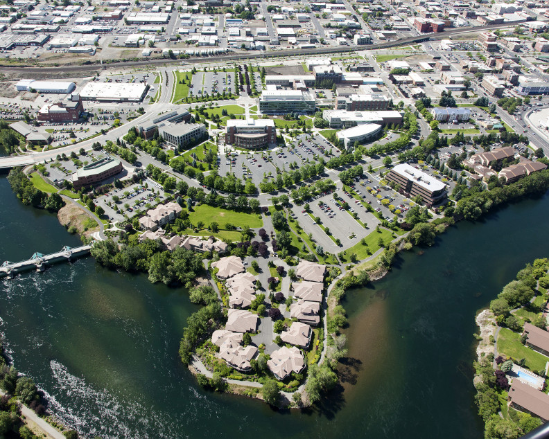 WSU Spokane Aerial
