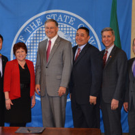 Lisa with Jay Inslee