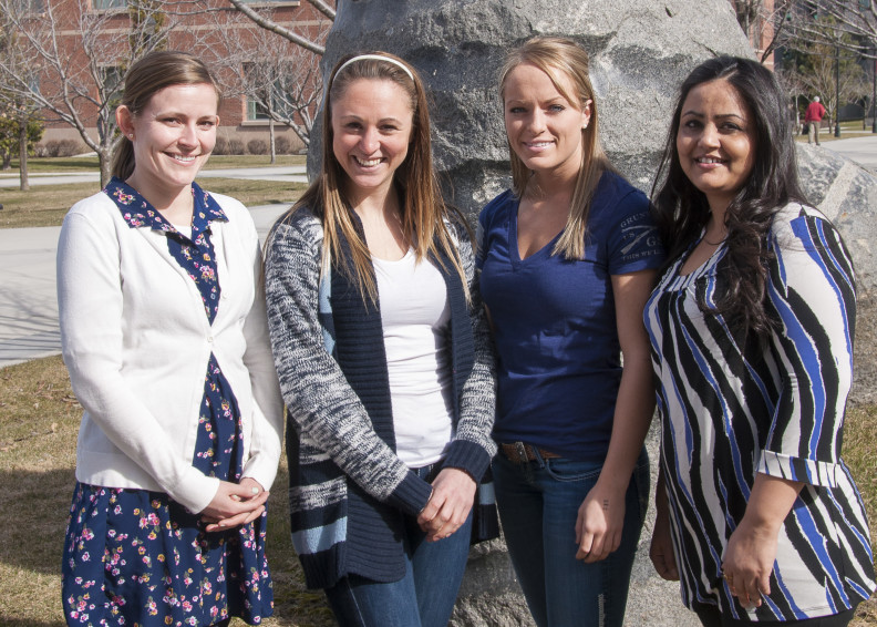 WSU Nursing Students