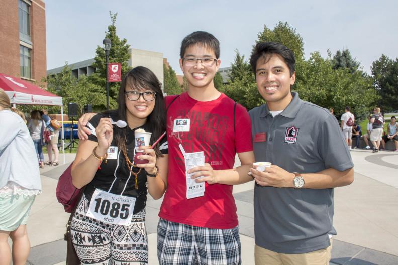 WSU Spokane Students