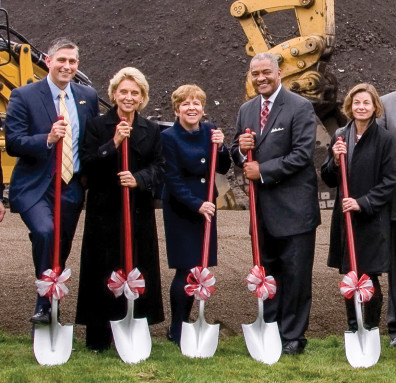 WSU Spokane groundbreaking