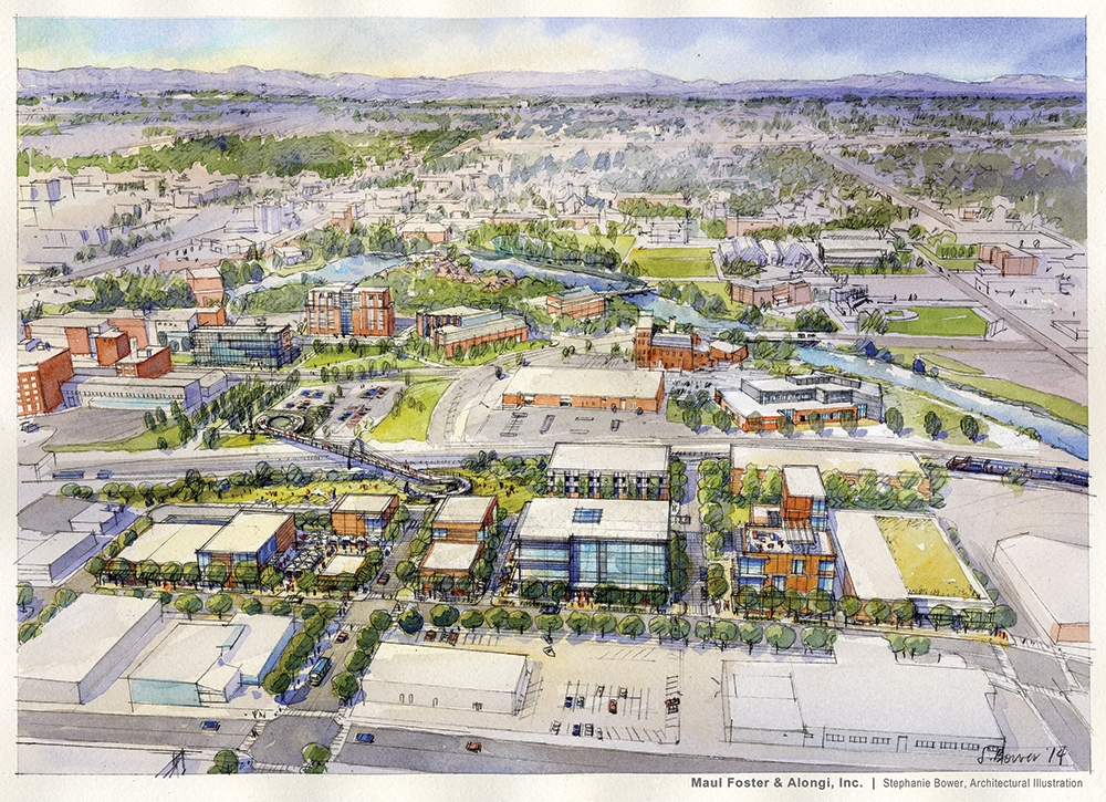 Jensen byrd building wsu health sciences spokane extra washington state university for Build on your lot washington state