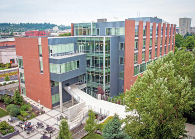 WSU Spokane Nursing Building
