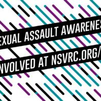 Sexual Assault Awareness Month Graphic