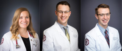Three Medical Students