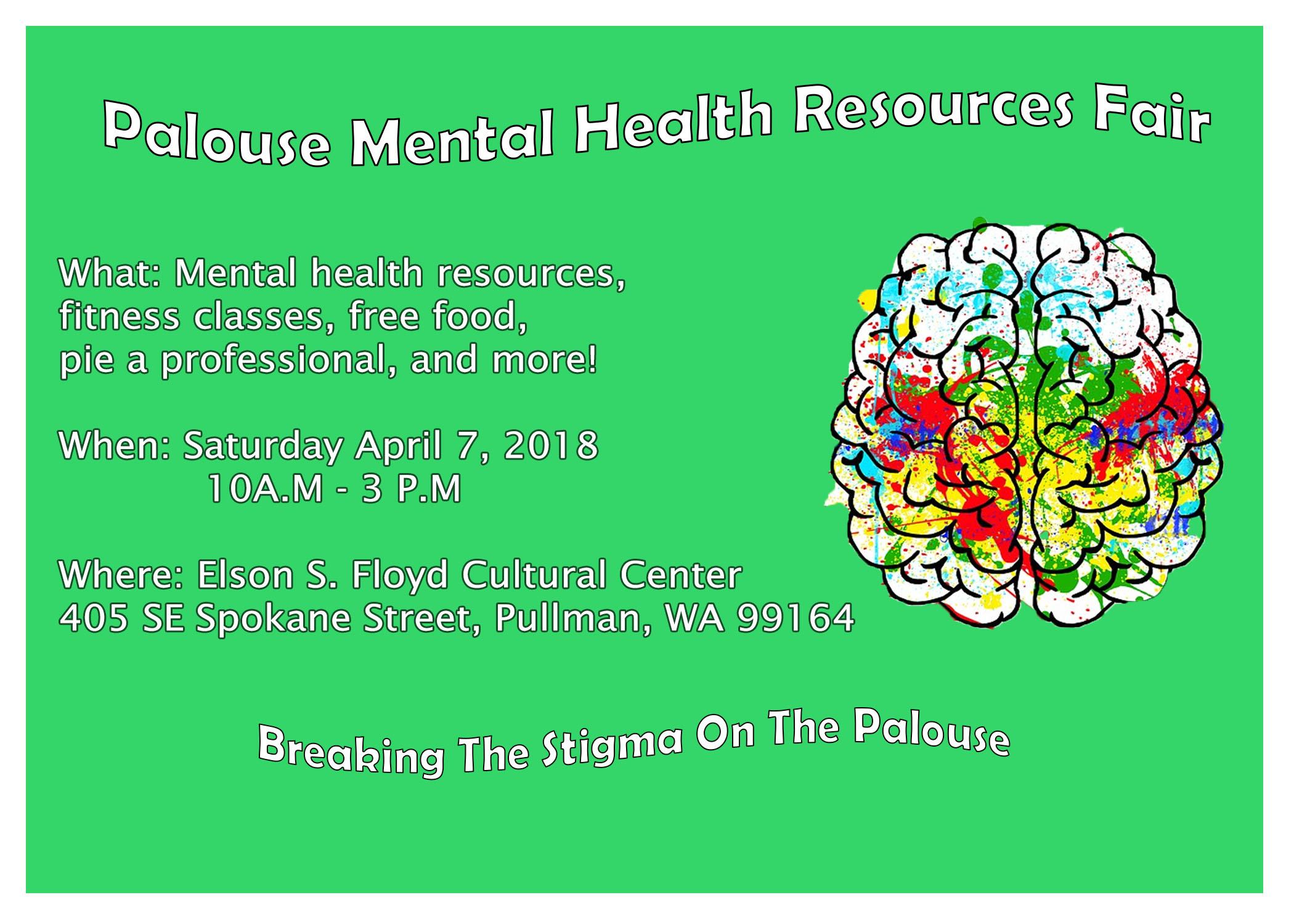 Palouse Mental Health Resources Fair Mom S Weekend Washington