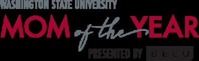 WSU Mom of the Year Logo