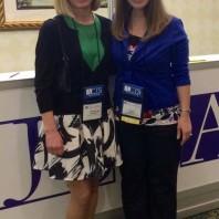 PhD students Liz Tollefsbol [left] and Chyla Aguiar [right].