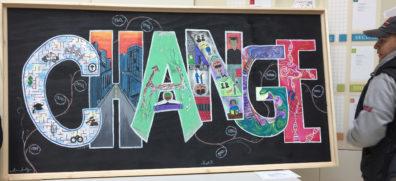 CHANGE mural