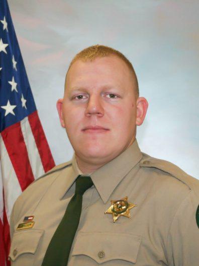 Sheriff's Deputy Justin DeRosier.