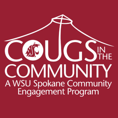 Cougs in the Community Logo