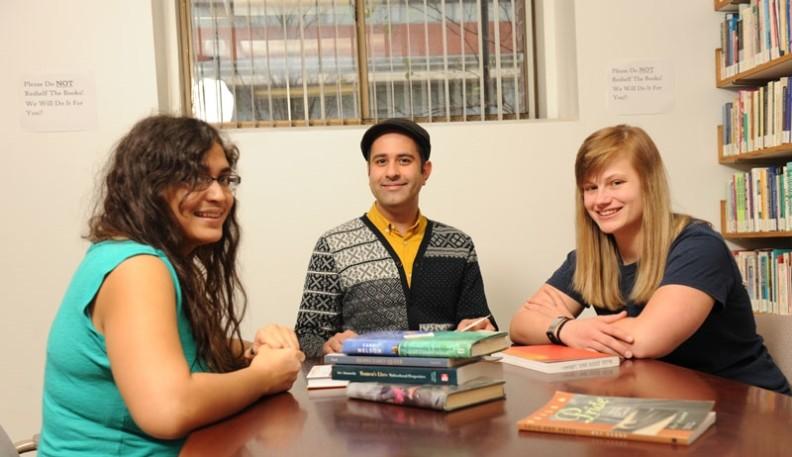 Dr. Nishant Shahani with students