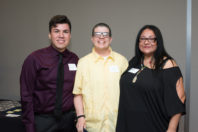 Ruben Zecena, Linda Heidenreich, and Veronica Sandoval