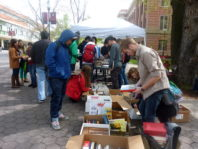 People browse books at the CCGRS Book Bash