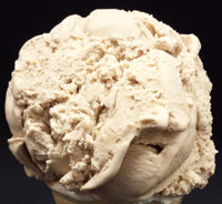 Caramel CashewCaramel ice cream sprinkled with cashews