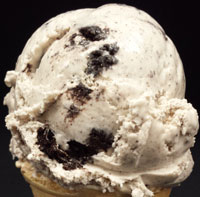 Cookies n CreamVanilla flavored ice cream with Oreo® cookies