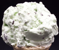 Mint ChipMint flavored ice cream with chocolate chips
