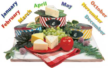 Sure to please, the WSU Creamery's Cheese of the Month Club makes a wonderful gift.