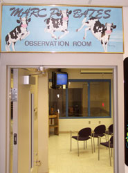The Marc P. Bates Observation Room is located at Ferdinand's Ice Cream  Shoppe on WSU's Pullman  Campus.