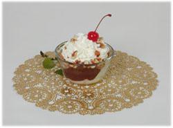Come to Ferdinand's Ice Cream Shoppe for an ice cream sundae.