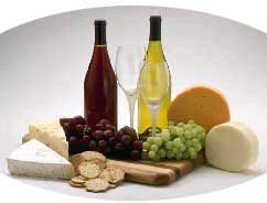 Cheese and wine - information on which wine(s) go best with Cougar Cheese.
