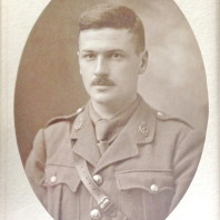 #2: Royal Army Medical Corps member N.S. Golding during World War I.