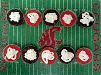 Cardinal and Chocolate Beet Cupcakes