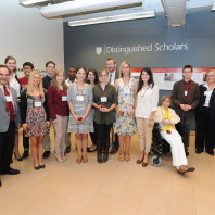 Group photo taken at the 2014 Celebrate Distinguished Scholars event