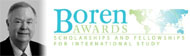 Explore information about Boren awards.