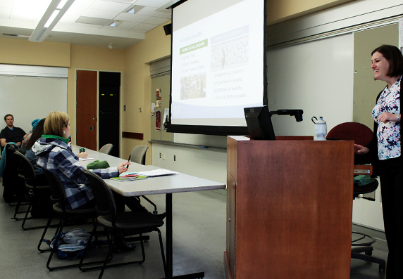 Susan Sharp Detailed The Boren Awards Program To A Student Faculty And Staff Audience In Pullman Nov 16