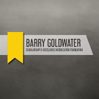 Logo of the Barry Goldwater scholarship and excellence in education foundation.