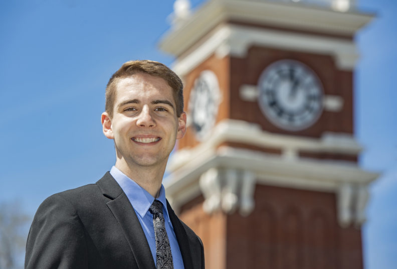 Fulbright 2020 recipient Thomas LeClair.