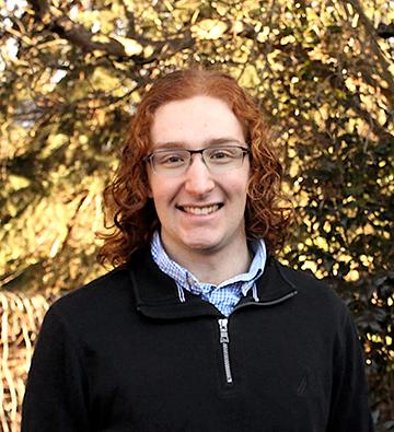 Truman 2020 finalist Patrick Robichaud.