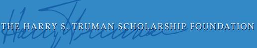 Logo of the Harry S. Truman Scholarship Foundation.